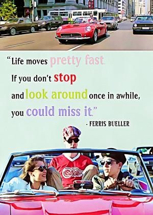 Ferris Bueller Day Off by Bob Frase