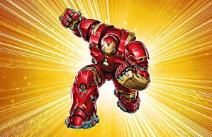 Ironman Hulkbuster by Bob Frase