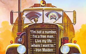 Iron Maiden by Bob Frase