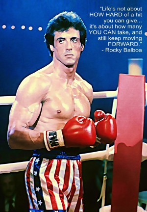 Rocky Sylvester Stallone by Bob Frase