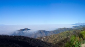California Mountains Above the Clouds by Bobby Twilley Jr