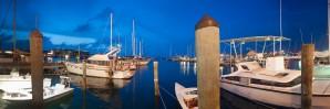 Key West Marina at Dusk by Bobby Twilley Jr