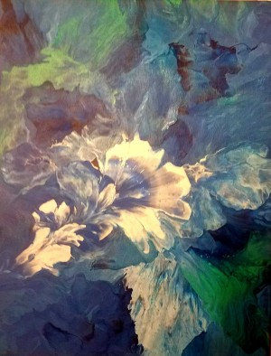 Lily in Blue by Cadell