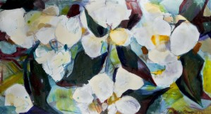 Louisiana Cubist Magnolia by Caroline Youngblood