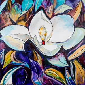 Moffitt Louisiana Magnolia by Caroline Youngblood