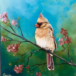 Mrs. Cardinal by Carrie Paquette