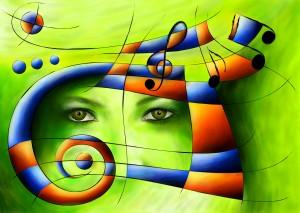 Hispanissia - painted music by Cersatti Art
