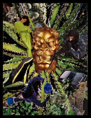 Retro collage mid 80s by Christopher Frank Lambert