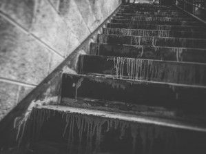 Black and White Stairs by DH Photo Concepts