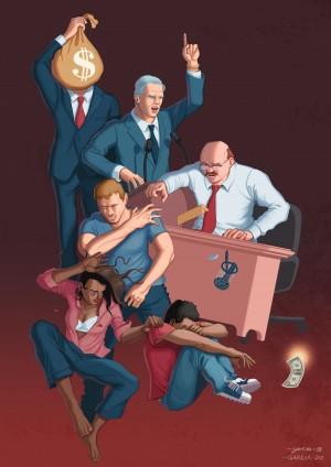 Cycle of Violence by Daniel Garcia Art