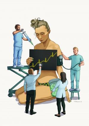 Healthcare is a Business by Daniel Garcia Art