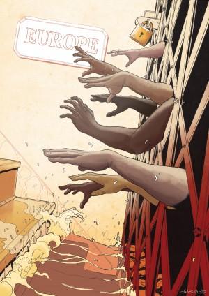 Immigrants by Daniel Garcia Art