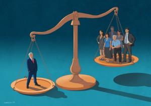 Corporate Justice by Daniel Garcia Art