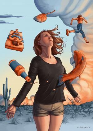 Girl by Daniel Garcia Art