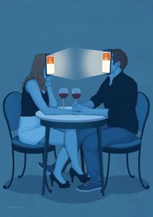 Online Dating by Daniel Garcia Art