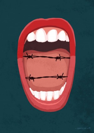 Hate Speech by Daniel Garcia Art