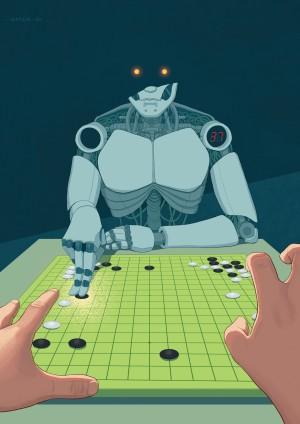 Artifical Intelligence by Daniel Garcia Art