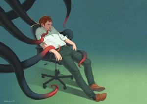 Depression by Daniel Garcia Art