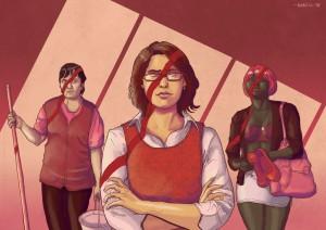 Violence Against Women by Daniel Garcia Art