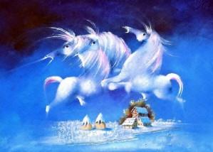 Angel Horses by David Berkowitz Chicago