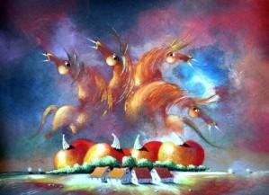 Happy Horses by David Berkowitz Chicago