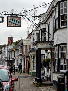 The Chequers Steyning by Dorothy Berry-Lound
