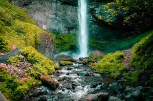 Hidden Falls by DroneVue360
