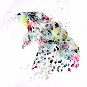 GROS MINOU by FANNY artiste peintre