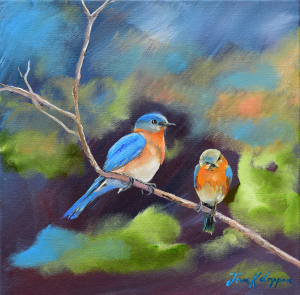 BlueBirds - Soul Mates by Jan Kornegay Dappen