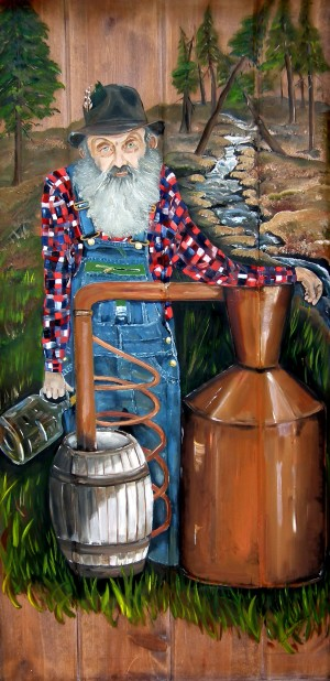 Popcorn Sutton - Moonshiner by Jan Kornegay Dappen