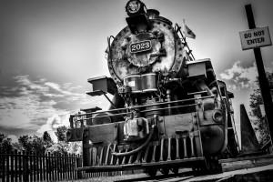 Heritage Train by Jane Dobbs