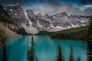 Moraine Lake by Jane Dobbs