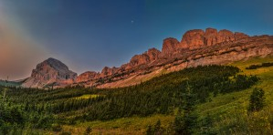 Seven Sisters and Castle Mountain by Jane Dobbs