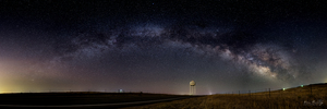 Milky Way in Kiowa Colorado by Kai Huang