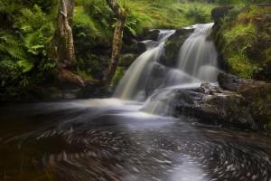 Waterfalls of Blaen y Glyn by Leighton Collins