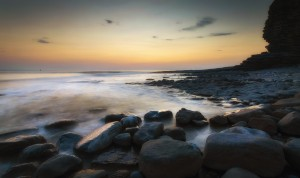 Sunset at Nash Point by Leighton Collins