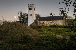 St Jamess Church in Manorbier by Leighton Collins