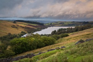 The Cray Reservoir in the Brecon Beacons National Park by Leighton Collins