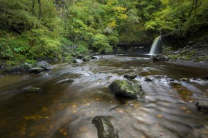 Sgwd Gwladus waterfall by Leighton Collins