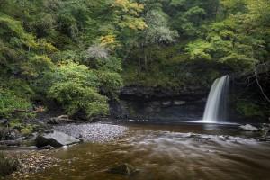Sgwd Gwladus near Pontneddfechan by Leighton Collins