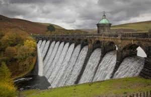 The dam at Craig Goch by Leighton Collins