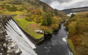 Craig Goch dam by Leighton Collins