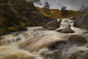 Elan valley watercourse by Leighton Collins