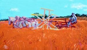 Binding Wheat  by Lowell Phoenix Devin
