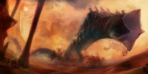 Dune World by Luis F  Peres