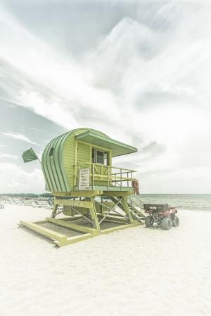 MIAMI BEACH Vintage Florida Flair by Melanie Viola
