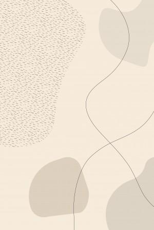 Mid-Century Modern No. 3 | brown   by Melanie Viola