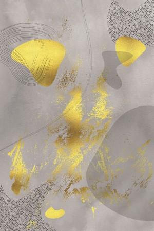 Mid-Century Vintage No. 1 | golden-brown   by Melanie Viola