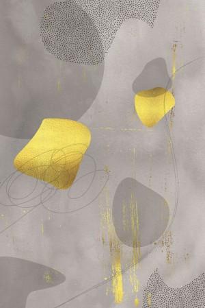Mid-Century Vintage No. 2 | golden-brown   by Melanie Viola