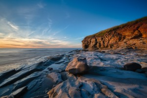 Coastal Sunset by Michel Soucy